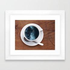 Mourning Morning.  Framed Art Print