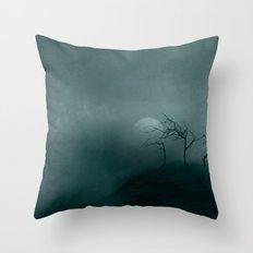 Three ~ Black and White Throw Pillow