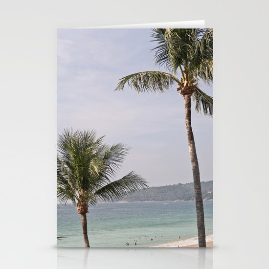 Palms Stationery Card