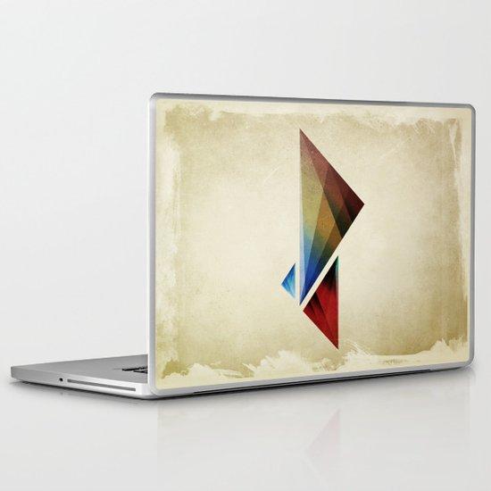 Triangularity Means We Dream in Geometric Colors Laptop & iPad Skin