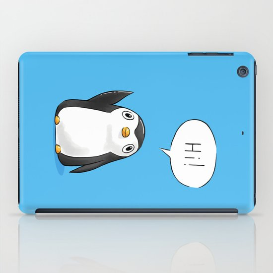 Hi Penguin iPad Case