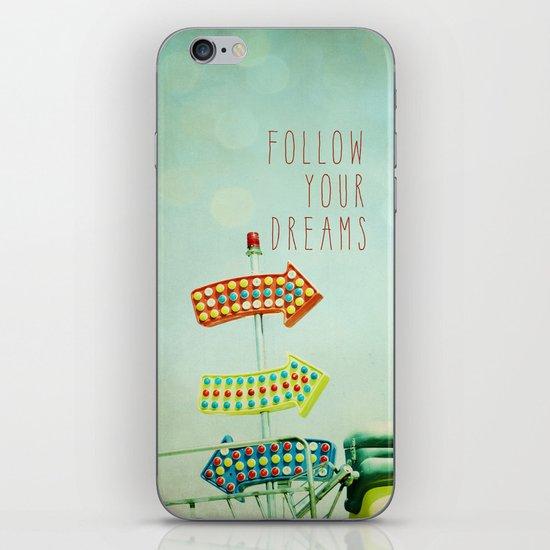 This Way For Fun iPhone & iPod Skin
