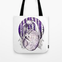 Sleep Like Wolves Tote Bag