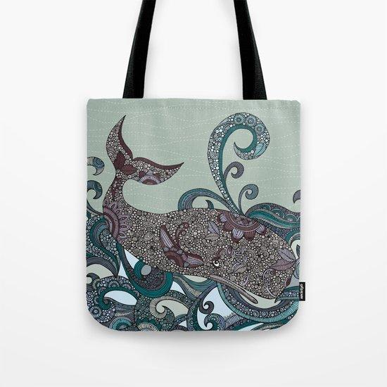 Deep Blue Me Tote Bag