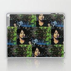 mariposas negras  Laptop & iPad Skin