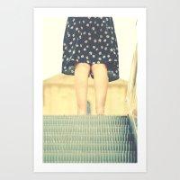 My darling, Henriette Art Print