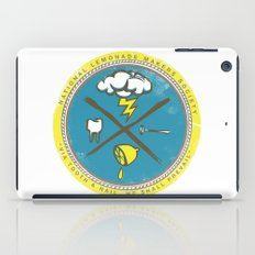 National Lemonade Makers Society Crest iPad Case