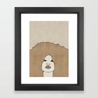 Female Two Framed Art Print