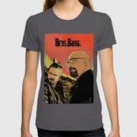 Breaking Bad (Br35Ba56) Womens Fitted Tee Asphalt SMALL