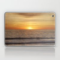 California Sunset Over Ocean Laptop & iPad Skin