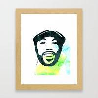 C' Framed Art Print