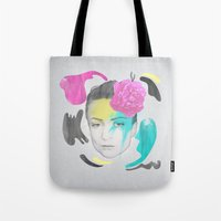 The Queen Of Digression Tote Bag