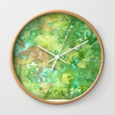 Greenwoods Abstract Wall Clock