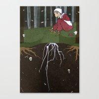 Baba Yaga: Life Canvas Print