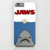 iPhone & iPod Case featuring JAWS Movie Poster by Monkey Chow