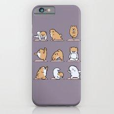 Pomeranian yoga iPhone 6 Slim Case