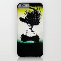 iPhone & iPod Case featuring mrs skeleton by cubik rubik