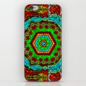 Crazy pattern machine iPhone & iPod Skin