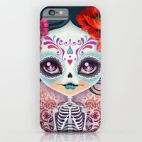 Amelia Calavera - Sugar … iPhone 6 Slim Case