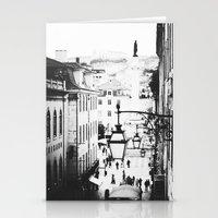 B&W Lisbon Stationery Cards