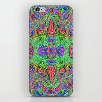 Ridged Patterns 3 B iPhone & iPod Skin