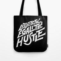 Liberté, égalité, Hus… Tote Bag