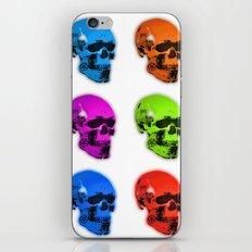 Mors Certa, Hora Incerta iPhone & iPod Skin