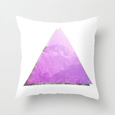 go gently Throw Pillow