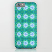 iPhone & iPod Case featuring Turquoise Mosaic flowers by Pink grapes
