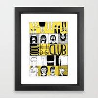 Cool Kids Club Framed Art Print