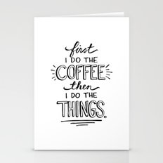 Coffee First Stationery Cards