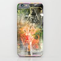 iPhone & iPod Case featuring KUSTOM HEART by michael pfister
