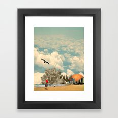 Holiday in the Sun Framed Art Print