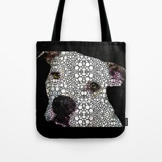 Stone Rock'd Dog By Sharon Cummings Tote Bag