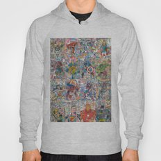Vintage Comic Superheroes Galore (Limited Time) Hoody