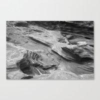 Lava Rocks At The Beach Canvas Print
