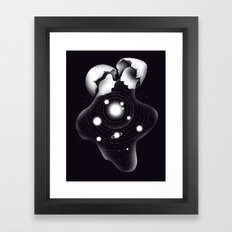 Cosmic Egg Shell Framed Art Print
