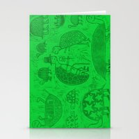 Turtles Woodcut  (repost… Stationery Cards