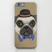 Mr Pug iPhone 6 Slim Case