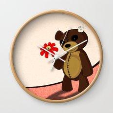 Sweet teddy Wall Clock