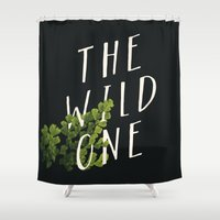 The Wild One Shower Curtain