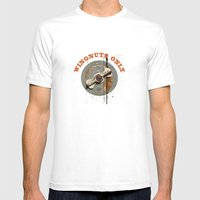 WINGNUTS ONLY / T-Shirts… Mens Fitted Tee White SMALL