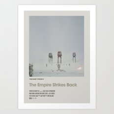 Retro Cinema Poster: Em… Art Print