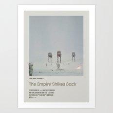 Retro Cinema Poster:Em… Art Print