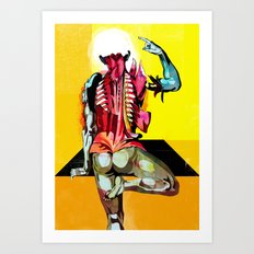 Anatomy [Casseri] Art Print