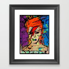 David Bowie. A Lad Insane Framed Art Print