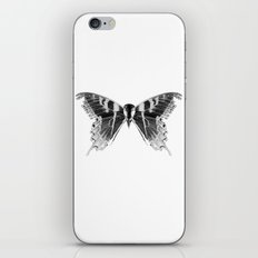 Wings and Skull #1 iPhone & iPod Skin