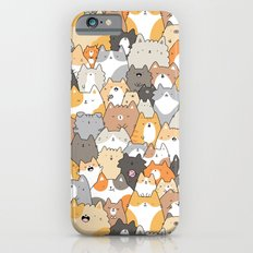 Cats, Kitties and a Spy iPhone 6 Slim Case