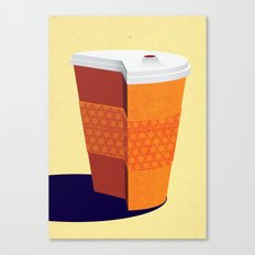 Cut down on Coffee Canvas Print