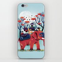 A Colorful Ride iPhone & iPod Skin